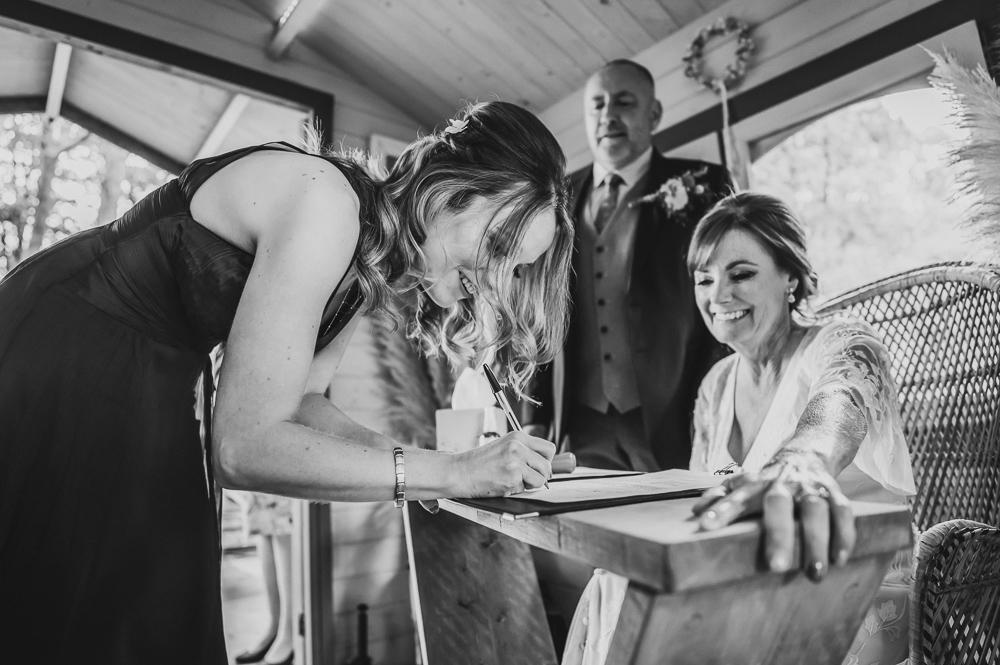 documentary wedding photography tiny wedding