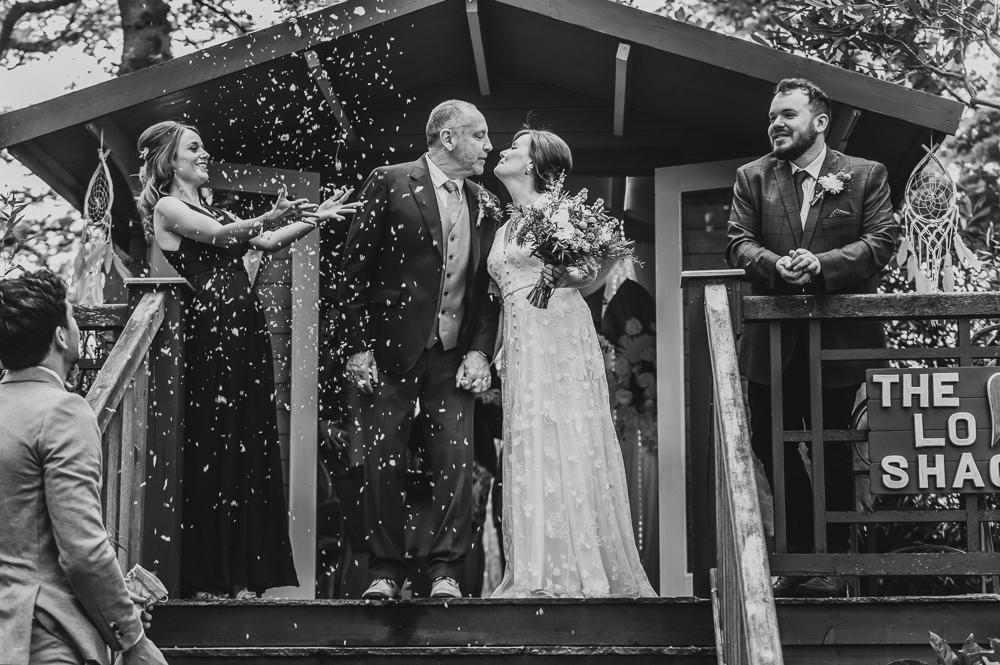 Love shack wedding