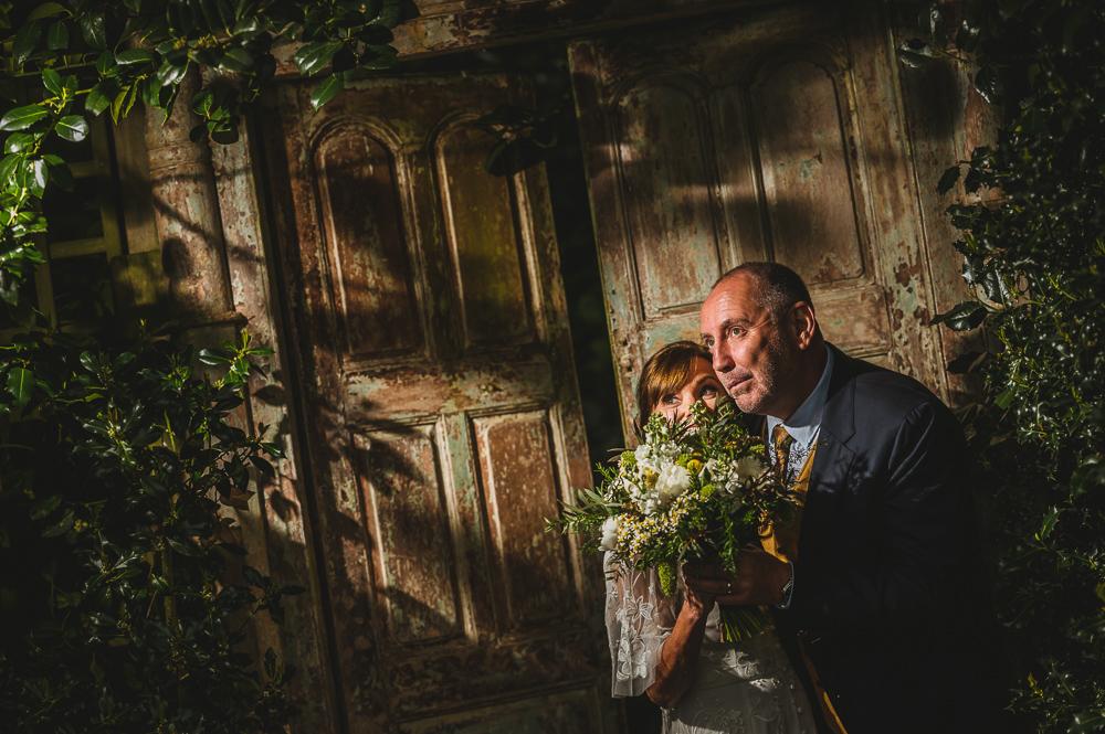 Love shack wedding couple